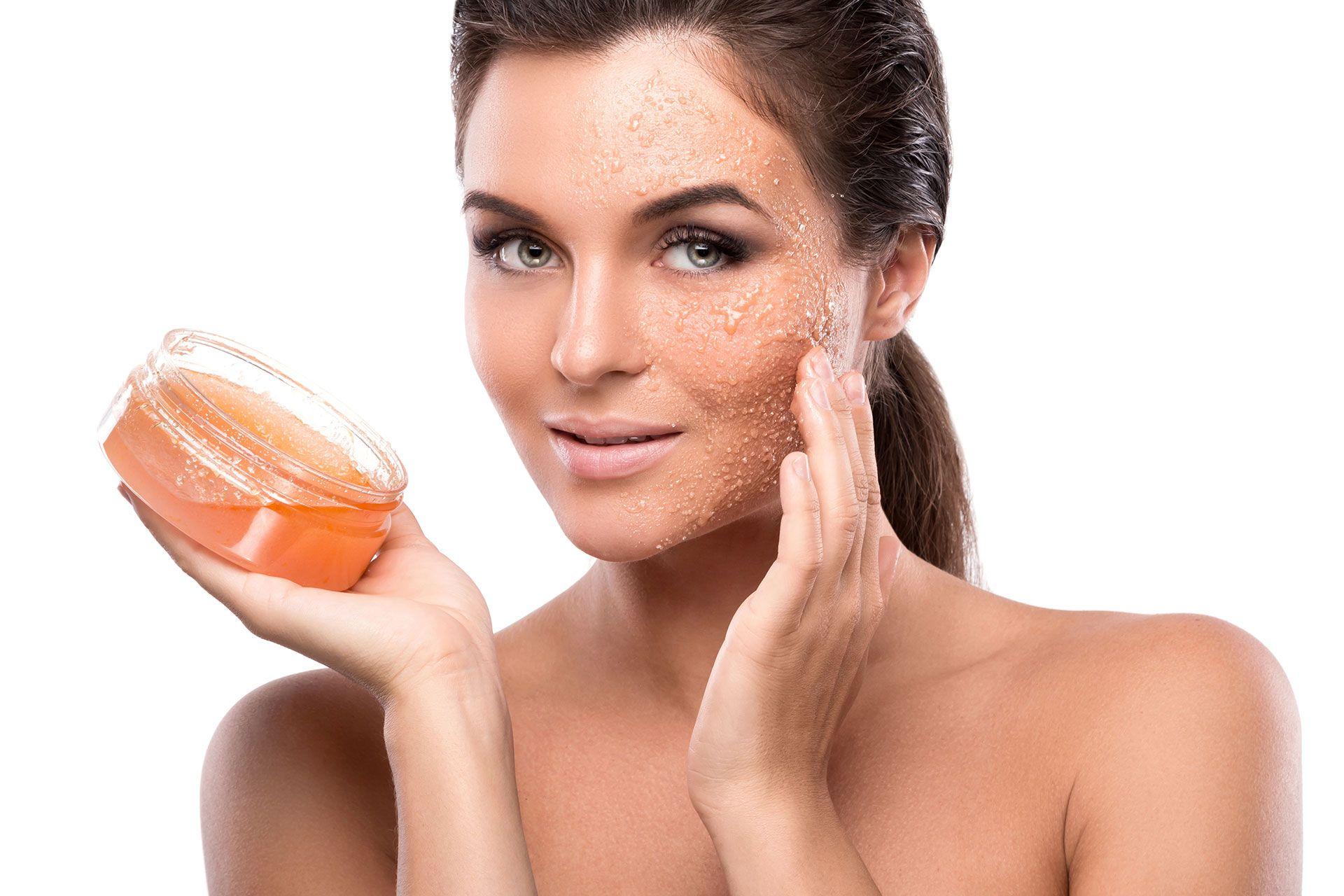 Peeling z cukru na twarz