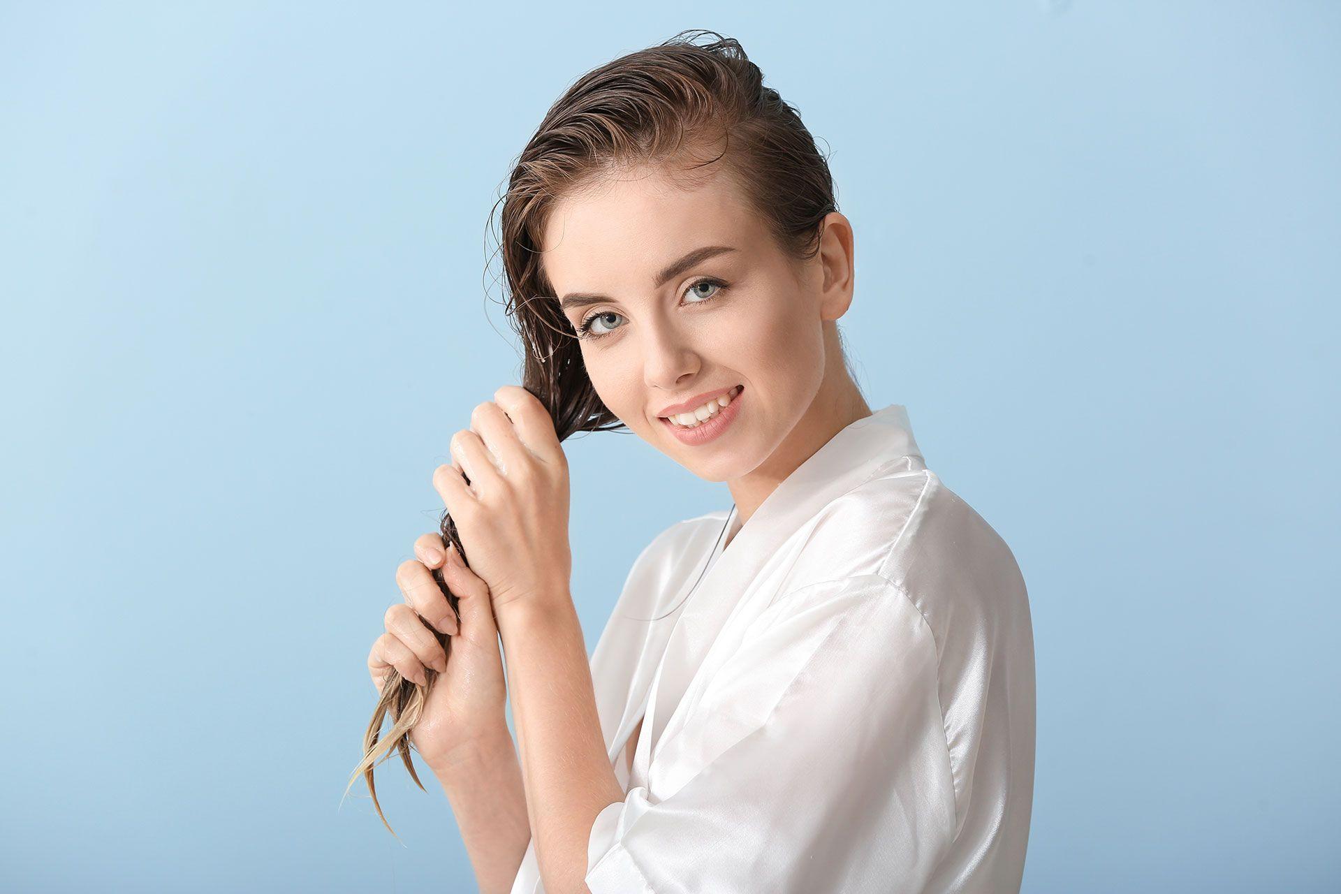 Peeling z cukru do włosów