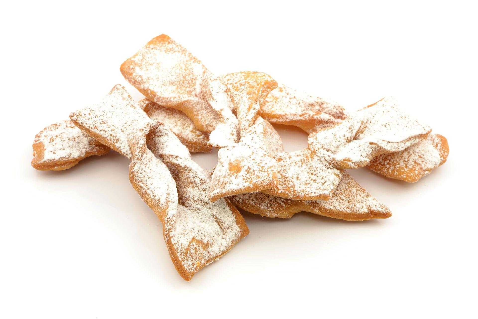 Dania z cukrem pudrem