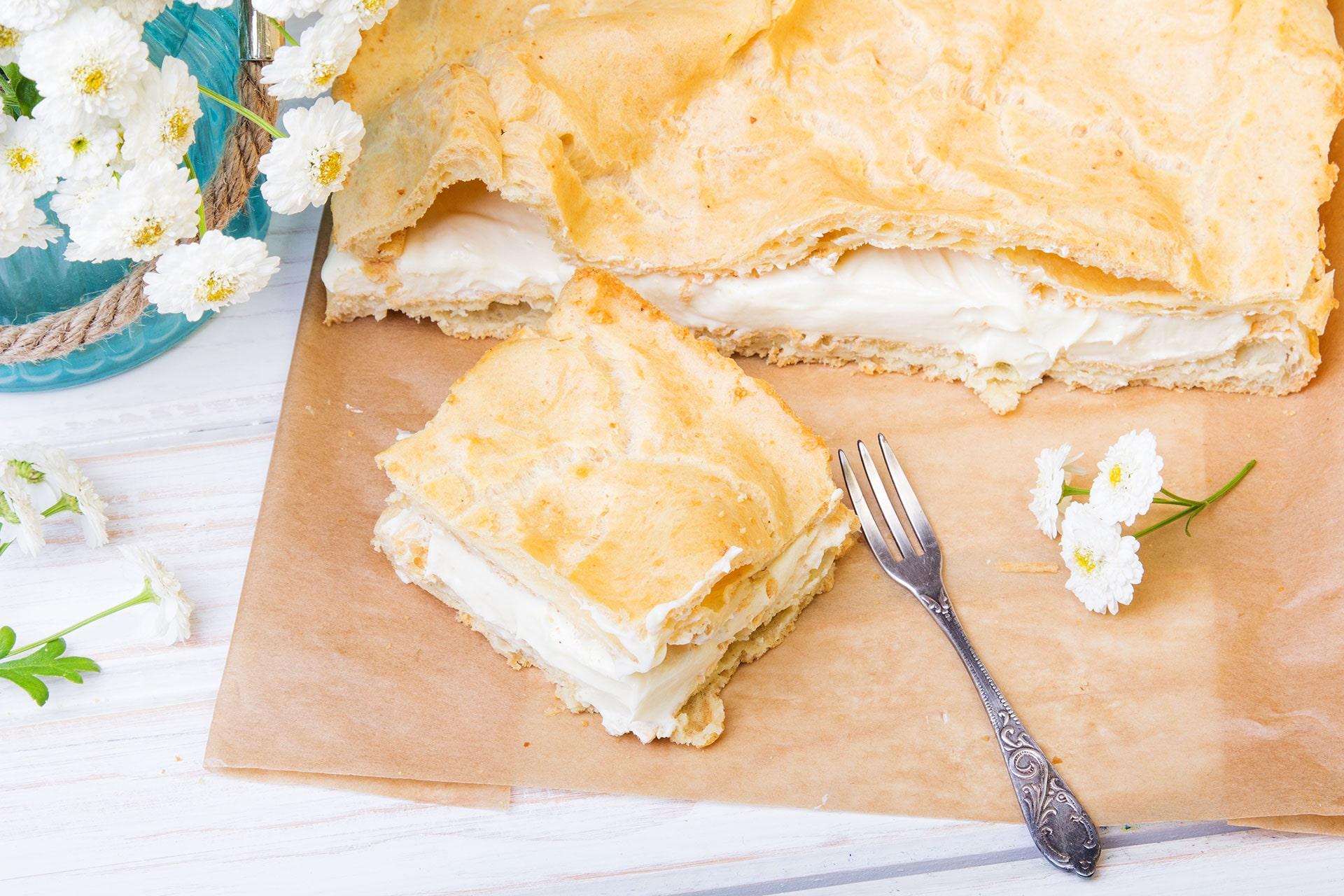 Karpatka - przepis na ciasto