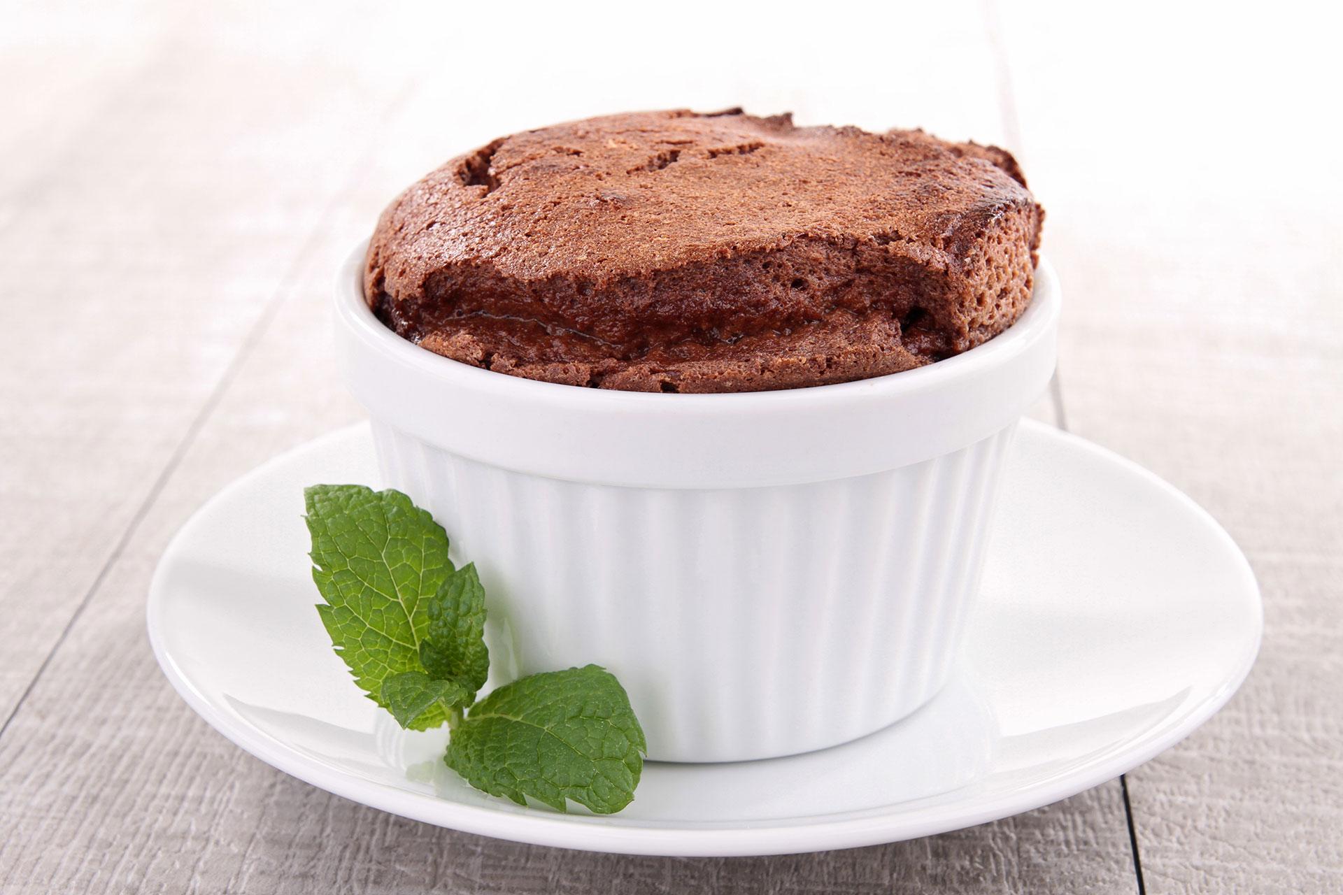 Suflet czekoladowy dla ukochanego